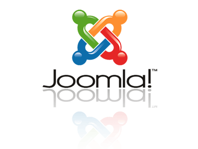 joomla logo with reflection